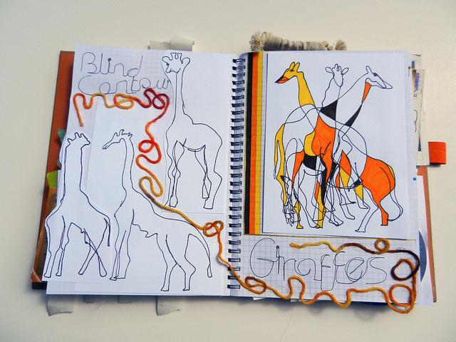 Smash Journal - Contour Giraffes